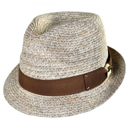 Tommy Bahama Stingy Brim Braid Fedora Hat