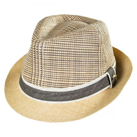 Tommy Bahama Raffia and Linen Fedora Hat