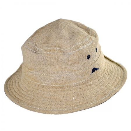 Tommy Bahama Linen Bucket Hat
