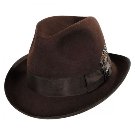 Stacy Adams Pinch Front Homburg Hat