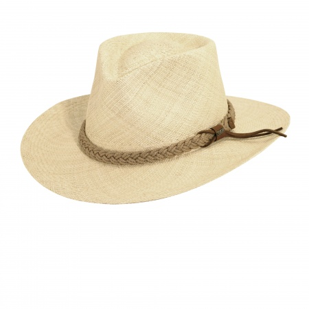 Scala Panama Braided Band Hat
