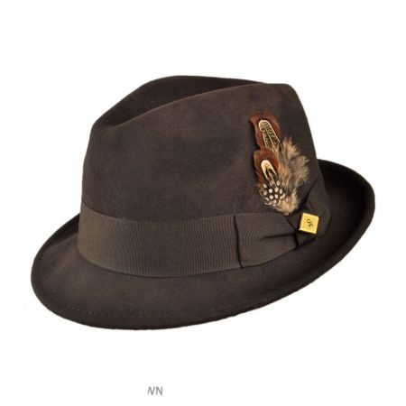Pinch Front Fedora Hat