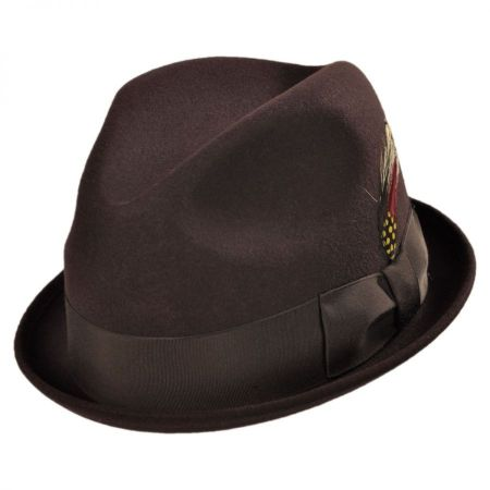 Broadway Stingy Brim Fedora Hat