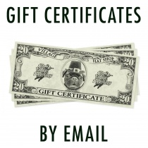 SIZE: $15 - Gift Certificate