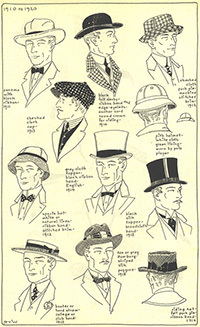 8616e1b97bc4f History of Hats - Village Hat Shop